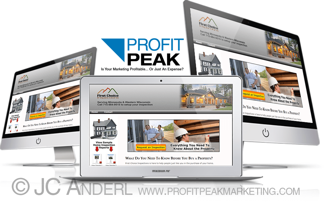 Website Design for Home Inspection Company