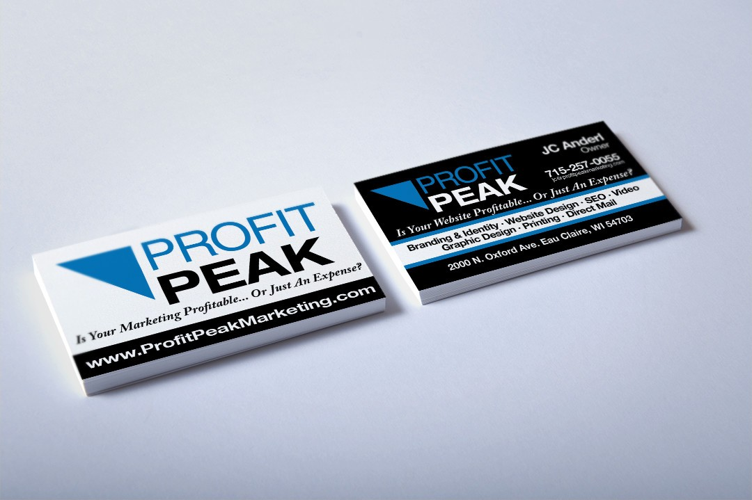 Business Cards for Profit Peak