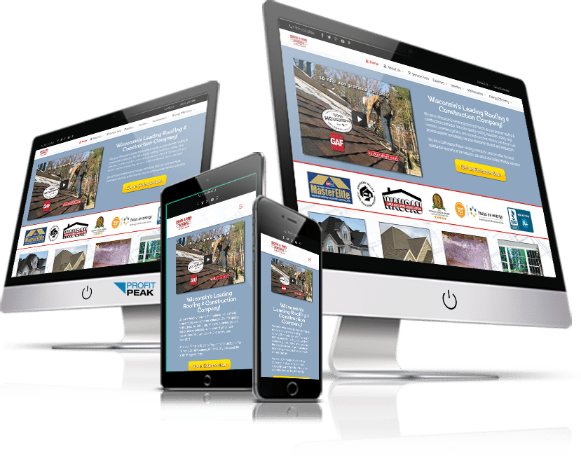 Website Re-design for Construction & Remodeling Company