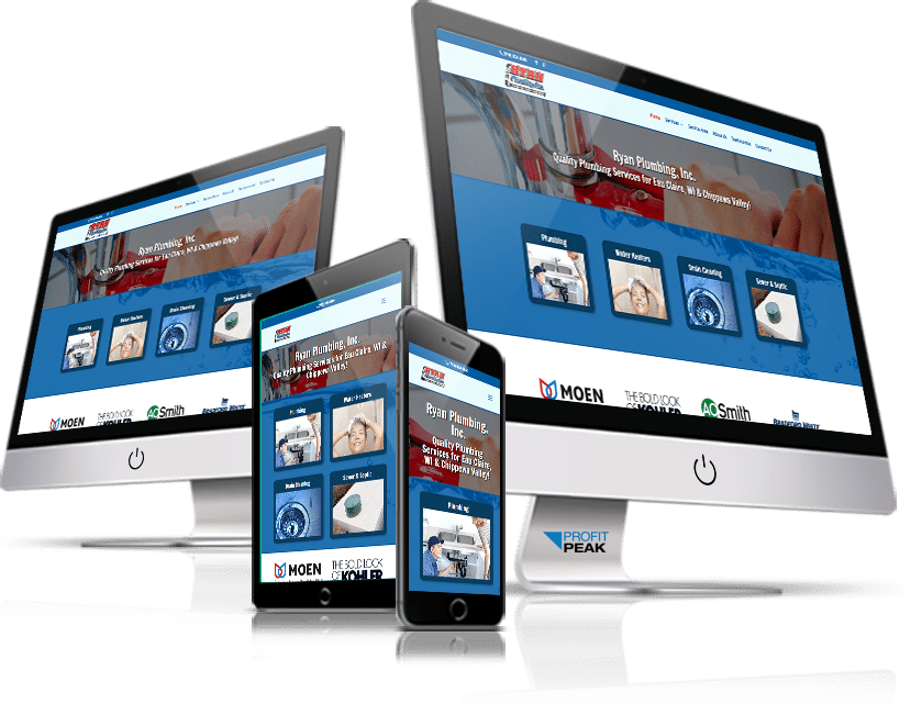 Responsive Website Designed for Local Plumbing Company