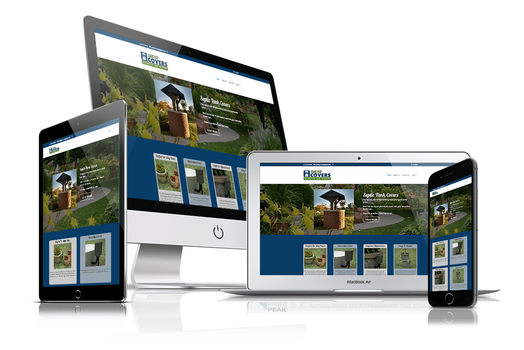 Responsive Website for Garden Supply Company