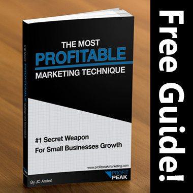 The Most Profitable Marketing Technique