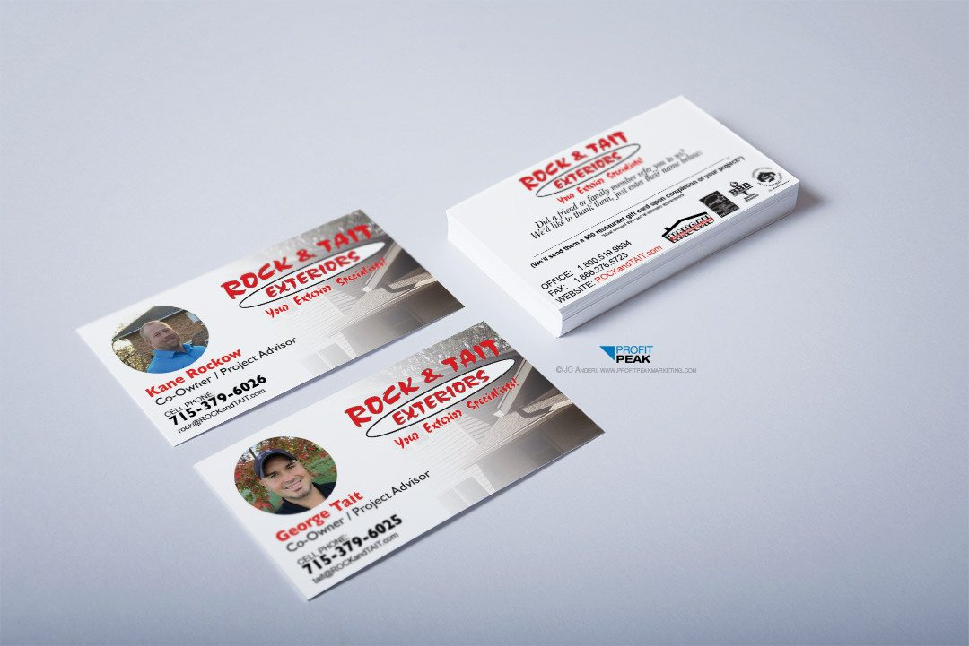 Business Cards for Construction & Remodeling Company