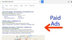 Google Search Results Paid Ads